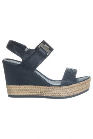 Wedge  sandals Repo. Цвет: black