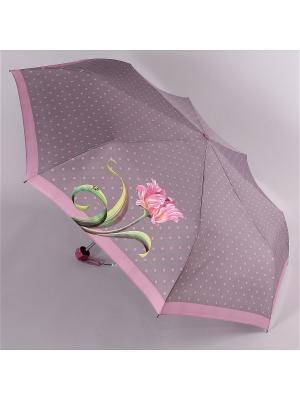 Зонт Airton. Цвет: серо-коричневый, розовый