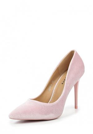 Туфли Flyfor. Цвет: розовый