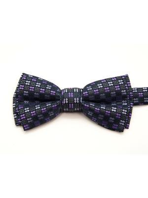 Бабочка Angelo Bonetti. Цвет: темно-синий, фиолетовый