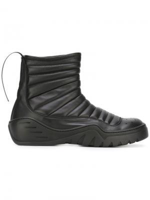 Высокие ботинки Unravel Project. Цвет: чёрный