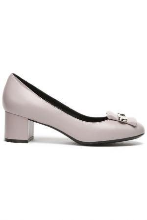 Туфли Zumita. Цвет: серый