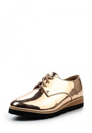 Ботинки VH. Цвет: золотой