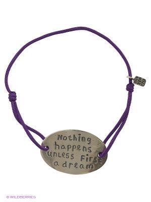 Цитата - фиолетовая нить Amorem. Цвет: серебристый, фиолетовый