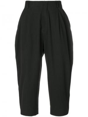 Укороченные брюки мешковатого кроя Enfants Riches Déprimés. Цвет: чёрный