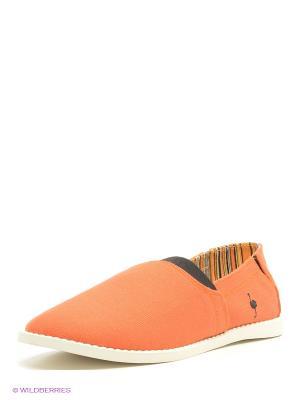 Слипоны Nexpero. Цвет: оранжевый