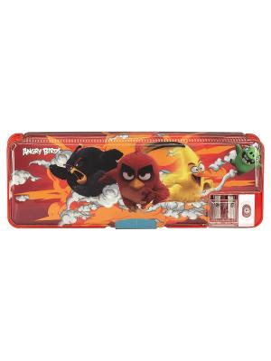 Пенал. Angry Birds Movie. Цвет: красный