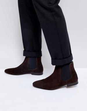 KG Kurt Geiger Замшевые ботинки челси By. Цвет: коричневый