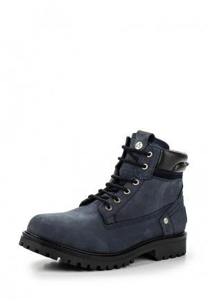 Ботинки Wrangler. Цвет: синий