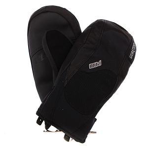 Варежки сноубордические  Mega Mitt Gtx Black Pow. Цвет: черный