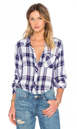 Рубашка на пуговицах hunter Rails. Цвет: синий