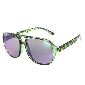 Очки  Cabanaz Green Tortoise Creature. Цвет: зеленый,черный