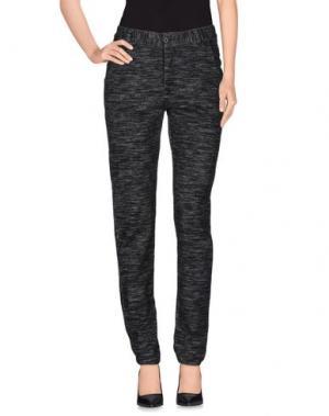 Повседневные брюки LEON & HARPER. Цвет: стальной серый