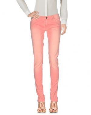 Повседневные брюки DW⁵. Цвет: лососево-розовый