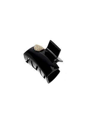 Краб для волос Bijoux Land. Цвет: черный