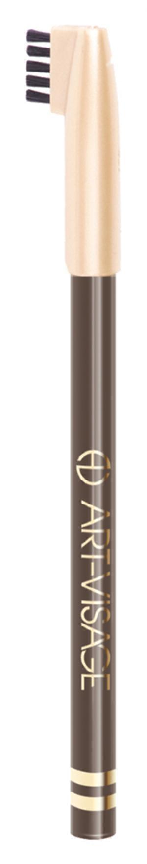 Карандаш для бровей Art-Visage 402 Темно-серый. Цвет: 402 темно-серый