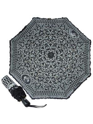 Зонт складной EMME M421C-OC Liberty Black. Цвет: черный