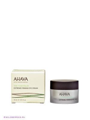 Крем для кожи вокруг глаз AHAVA. Цвет: прозрачный