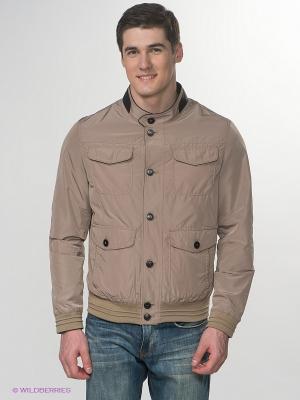 Куртка Claudio Campione. Цвет: темно-коричневый, бежевый