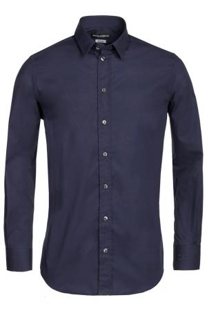 Рубашка DOLCE & GABBANA. Цвет: dark blue