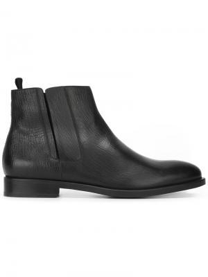 Ботинки по щиколотку Fratelli Rossetti. Цвет: чёрный