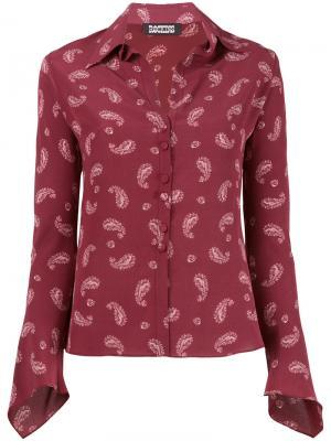 Рубашка Gunsn Rockins. Цвет: красный