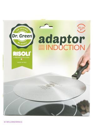 Универсальный индукционный диск Risoli. Цвет: серый