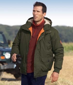 Куртка из Микрофибры AFM. Цвет: хаки