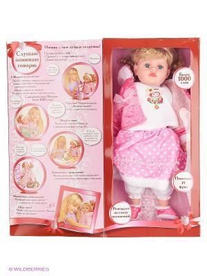 Кукла КАРАПУЗ МИЛАНА. Цвет: розовый