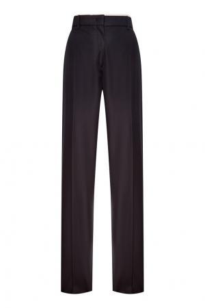 Черные хлопковые брюки-чинос No.21. Цвет: черный