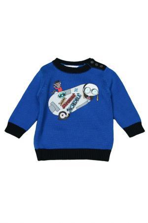 Пуловер Little Marc Jacobs. Цвет: голубой