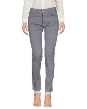 Повседневные брюки GABARDINE. Цвет: серый