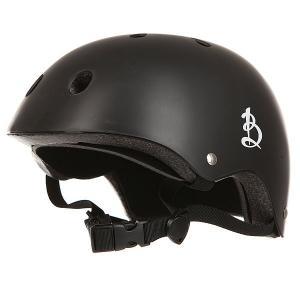 Шлем для скейтборда  Black Вираж. Цвет: черный