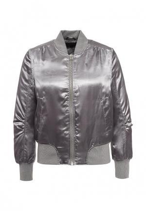 Куртка QED London. Цвет: серый
