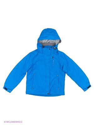 Куртка 3 в 1 High Experience. Цвет: синий