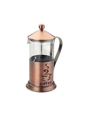 Чайник заварочный (Френч-пресс) 0,6 Л Augustin Welz. Цвет: коричневый