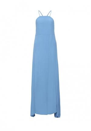 Платье Silvian Heach. Цвет: голубой
