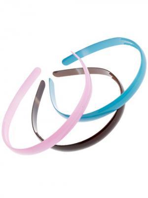 Ободок City Flash. Цвет: розовый, голубой, коричневый