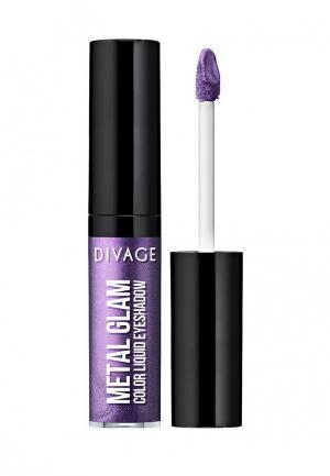 Тени для век Divage. Цвет: фиолетовый