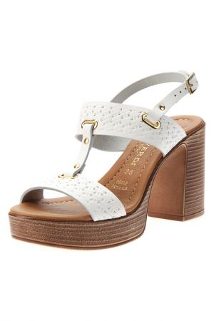 Sandals PRATIVERDI. Цвет: bianco v8
