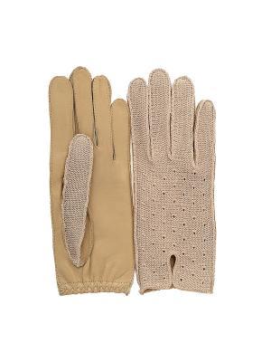 Перчатки PerstGloves. Цвет: бежевый