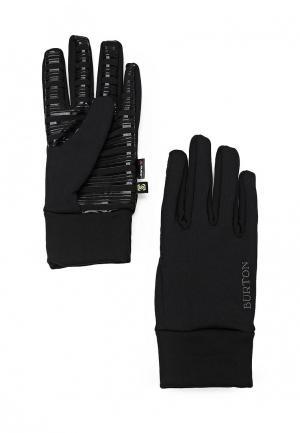 Перчатки Burton. Цвет: черный