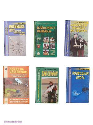 Рыбалка №2 (Комплект 6 книг) Издательский Дом Рученькиных. Цвет: белый