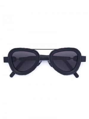 Солнцезащитные очки Mask Z5 Kuboraum. Цвет: чёрный