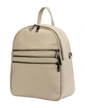 Рюкзаки и сумки на пояс PARENTESI. Цвет: светло-серый