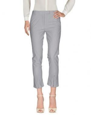 Повседневные брюки CIVIDINI. Цвет: серый