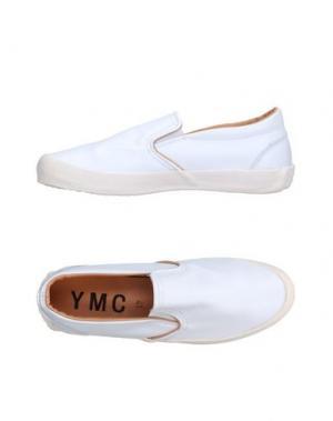 Низкие кеды и кроссовки YMC YOU MUST CREATE. Цвет: белый