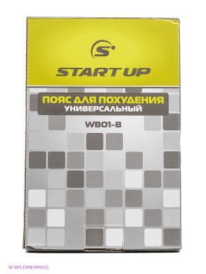 Пояс для похудения WB01-B Start Up. Цвет: серый