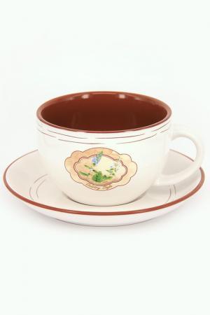Чашка для завтрака Tognana. Цвет: мультицвет