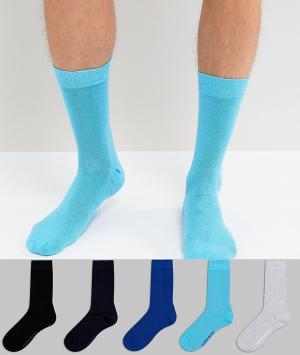 Bjorn Borg Комплект из 5 пар носков. Цвет: мульти